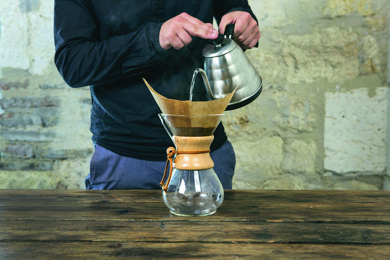 Illustration café : Chemex 6 tasses